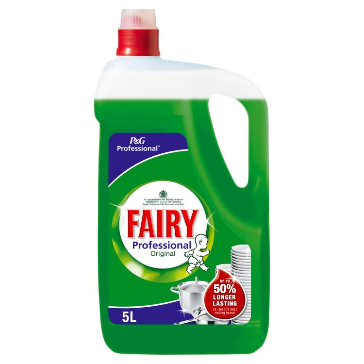 Fairy 5 Litre Washing Up Liquid Chemical Solutions